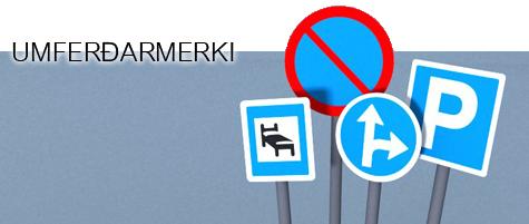 Umferðarmerki_header
